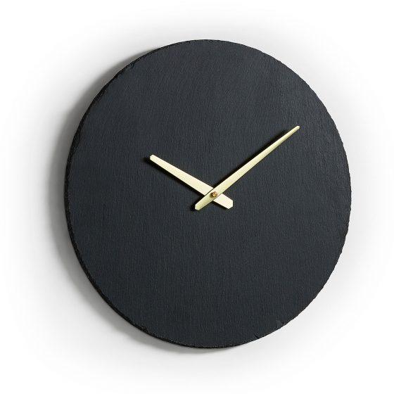 Reloj-redondo-negro-y-dorado