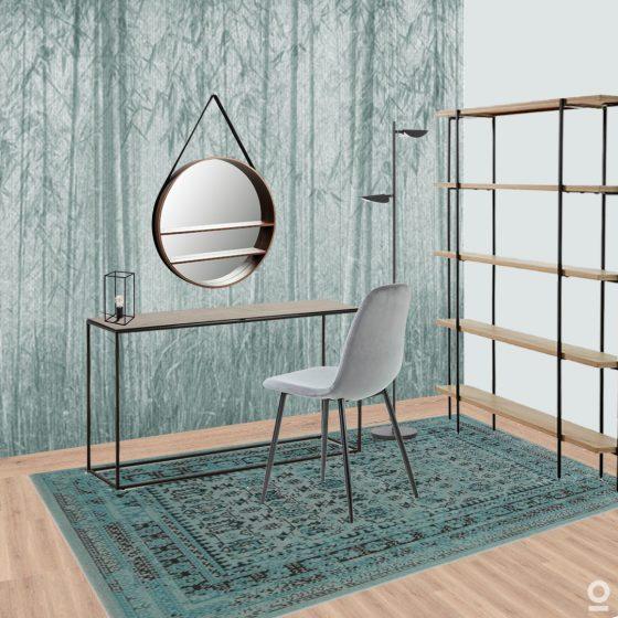 Conjunto de estudio-incluye consola silla y espejo-dindonliving