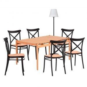 Conjunto de muebles para comedor exterior dindonliving