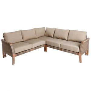 Sofá de exterior en esquina dindonliving