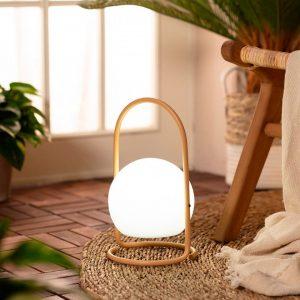 Lámpara exterior portátil con asa amarilla Alcor-dindonliving-137122-06