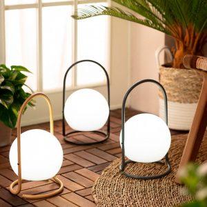Lámpara exterior portátil con asa amarilla Alcor-dindonliving-137122-08
